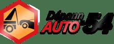 Logo Dépann'Auto 54 : remorquage et dépannage de voiture à Nancy et sa région.